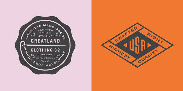 50+ Creative Designs of Badges and Logos - 4