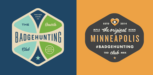 50+ Creative Designs of Badges and Logos - 7