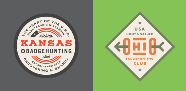50+ Creative Designs of Badges and Logos - 9