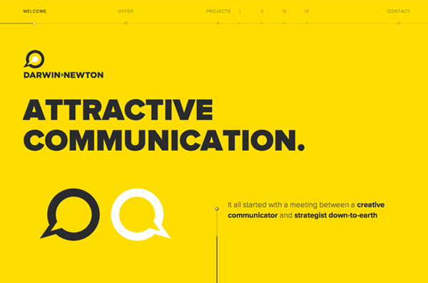 Flat Websites Design - 25 New Web Examples - 13