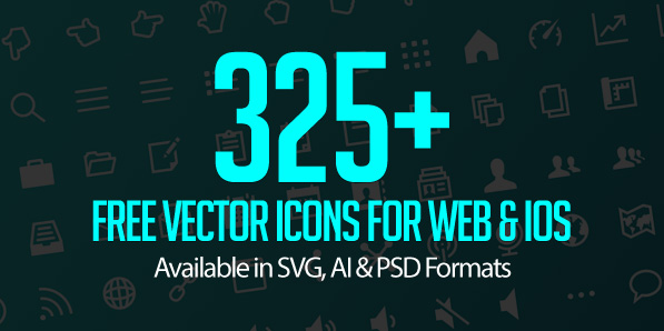 Free Vector Icon Set (325+ Icons)