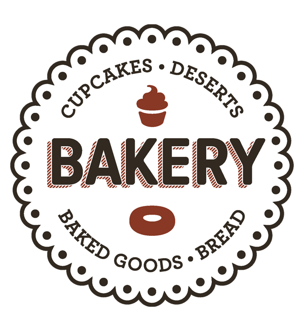 Free Vector Bakery Logos and Label | Vector | Graphic Design Junction
