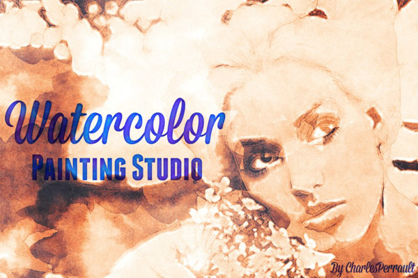 Watercolor Painting Studio