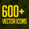 Post Thumbnail of Free Vector Icons: 600+ Icons for App and Web UI