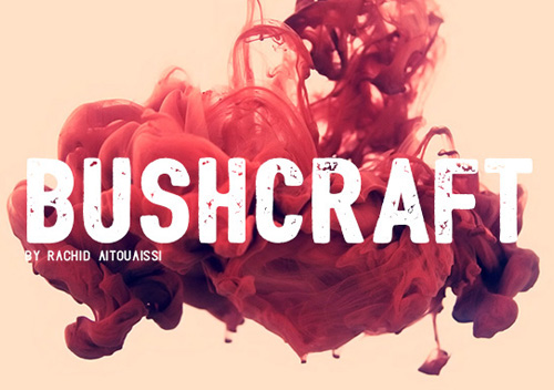 Bushcraft Free Font for Hipsters