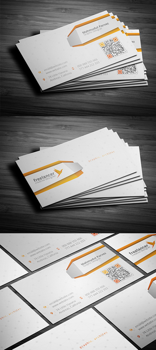 Hironic Creative Business Card