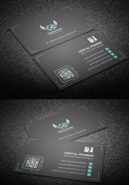 Personal Corporate Business Card
