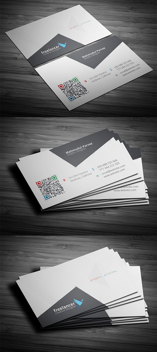 Katblimb Corporate Business Card
