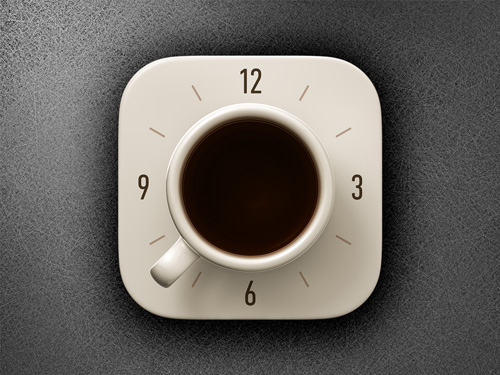 Coffee Alarm Clock iOS icon