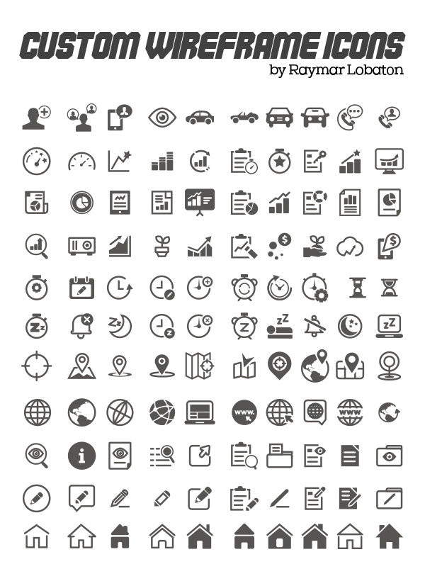 Free Vector Icons: 600+ Icons for App and Web UI | Icons | Graphic ...