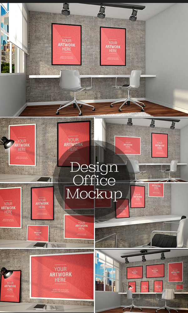Design Office MockUp