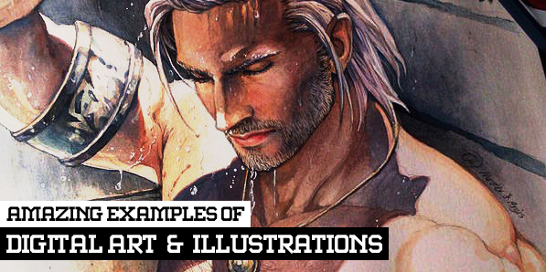 30 Awesome Examples of Digital Art and Illustrations