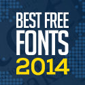 Post Thumbnail of 50 Free Fonts Best of 2014