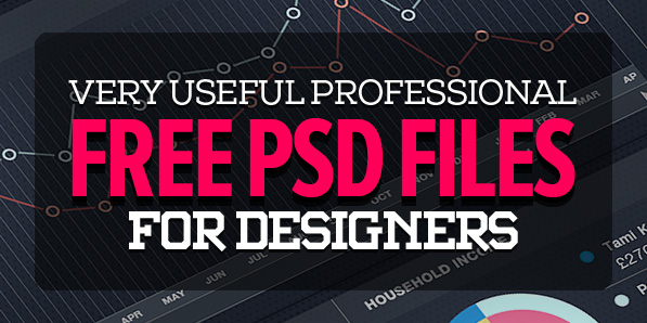 27 Latest Photoshop Free PSD Files for Designers