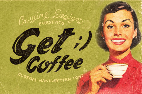Get Coffee Custom Font