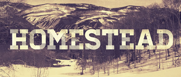 Homestead Free Font for Hipsters