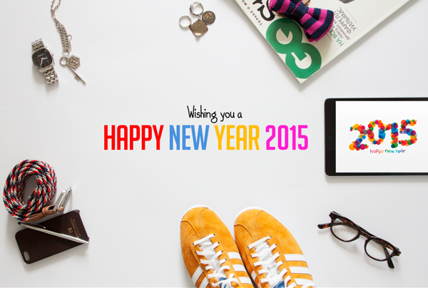 New Year 2015 Hero Header