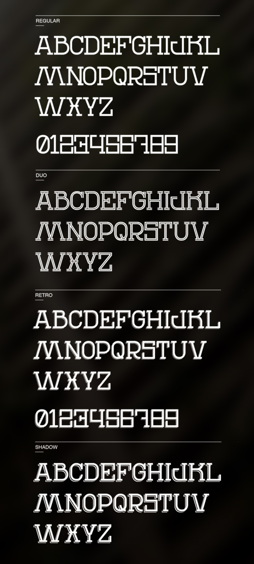 REN Free Font for Hipsters