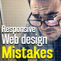 Post thumbnail of Responsive Web Design mistakes you better make a note of