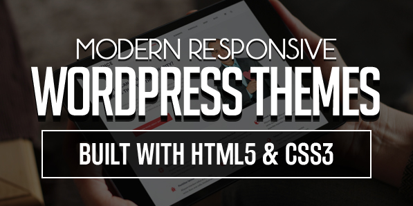 16 Modern Responsive WordPress Themes Build with HTML5 & CSS3