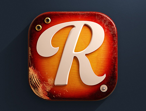 Reverb IOS 3D Icon