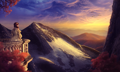 Create a Sunset Landscape Photo Manipulation