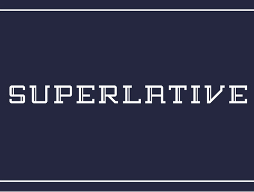 Superlative Free Font for Hipsters