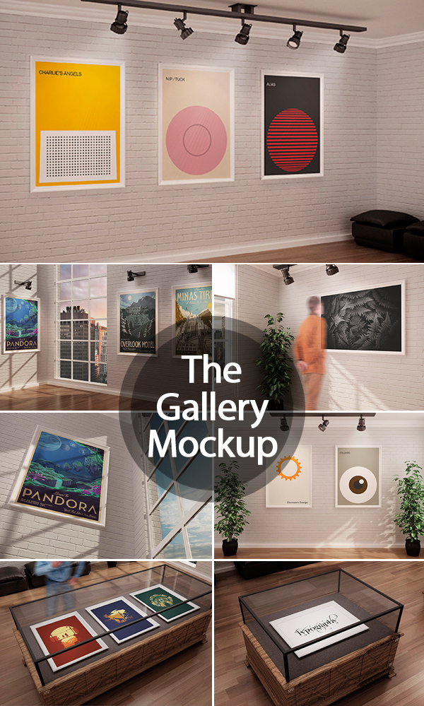 The Gallery MockUp