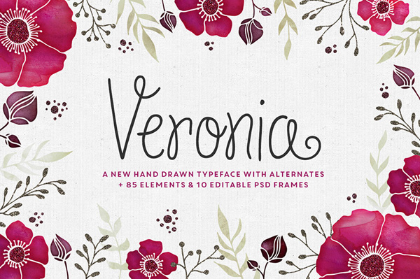 Make Media Co and the Cultivated Mind Type Foundry have joined creative forces to bring you Veronia