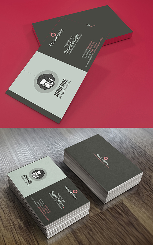 Flat and Elegant Business Card