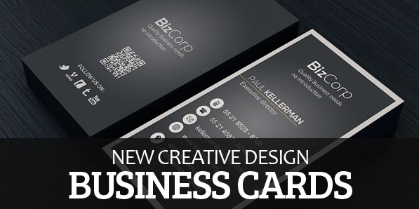 New Modern Business Cards Design