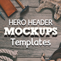 Post thumbnail of Amazing Hero Header Mockup Templates for Designers