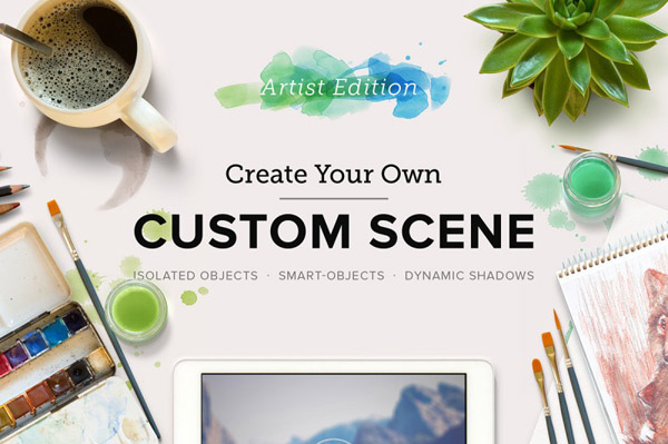 Custom Scene allows you to create your own scene quickly and easily.