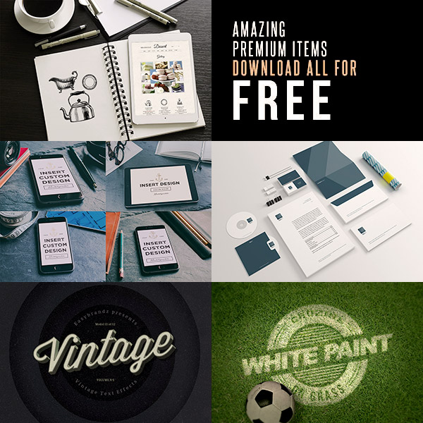 600+ Amazing Mockups, Logos, Fonts & Vector Graphics for Designers | Resources