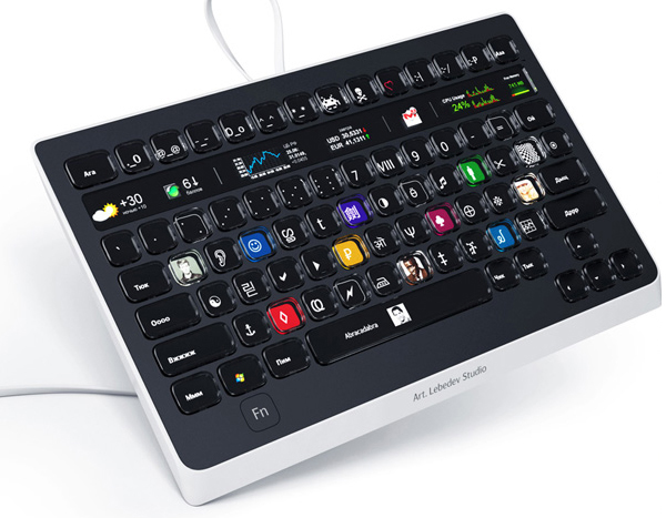 Optimus popular is keyboard for designers