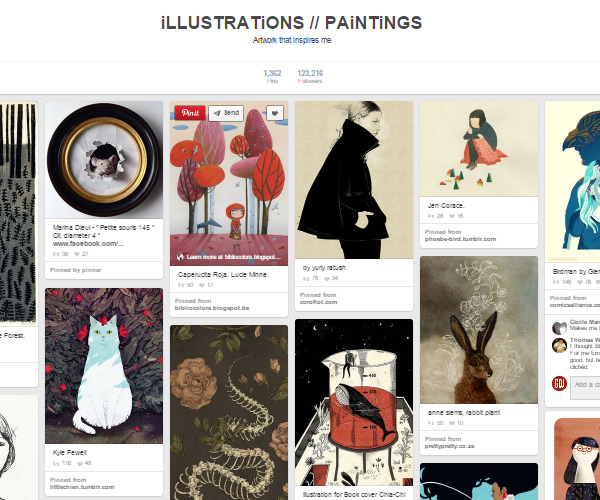 26 Top Digital Art & Illustrations Boards To Follow on Pinterest - 1