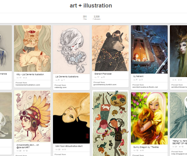 26 Top Digital Art & Illustrations Boards To Follow on Pinterest - 10