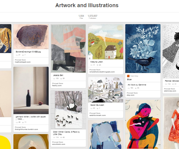 26 Top Digital Art & Illustrations Boards To Follow on Pinterest - 15