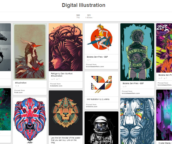 26 Top Digital Art & Illustrations Boards To Follow on Pinterest - 18
