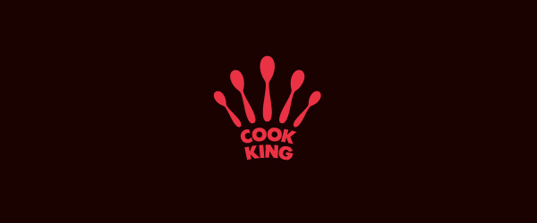 Cook King Logo By Taras Boychik