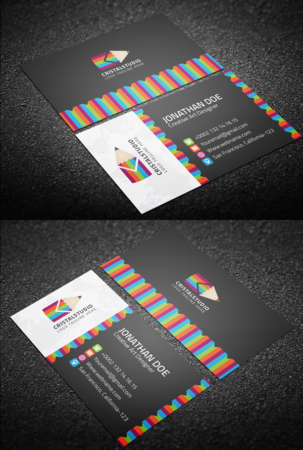 Corporate Business Cards New Modern Design Templates | Design ...