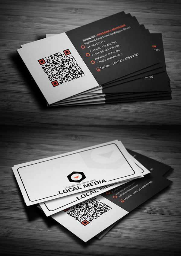 Business Cards Design: 50+ Amazing Examples to Inspire You - 42