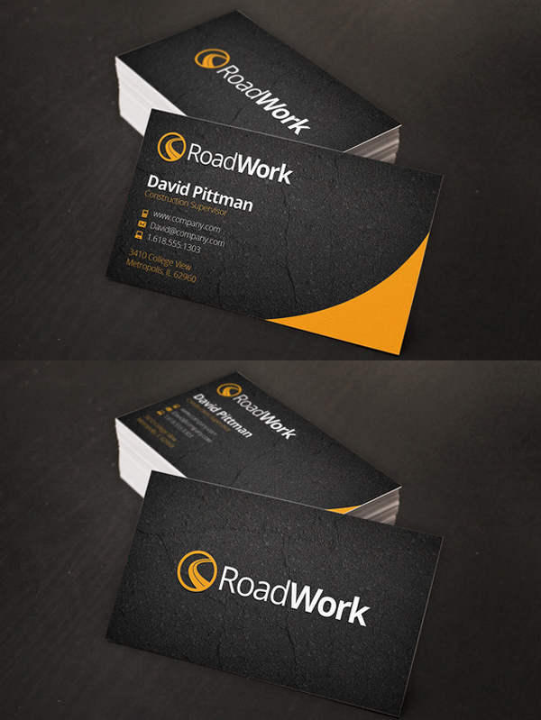 corporate business cards new modern design templates