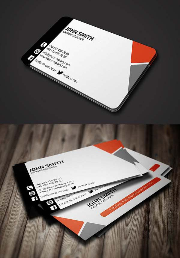 36 Modern Business Cards Examples for Inspiration Design Graphic