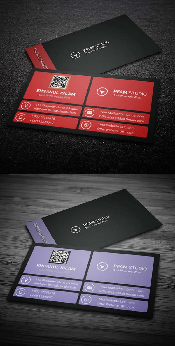36 Modern Business Cards Examples for Inspiration - 8