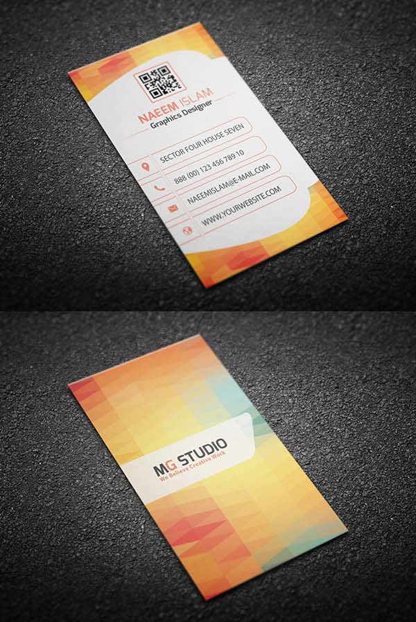 36 Modern Business Cards Examples for Inspiration - 11