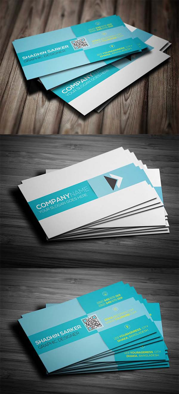 36 Modern Business Cards Examples for Inspiration - 26