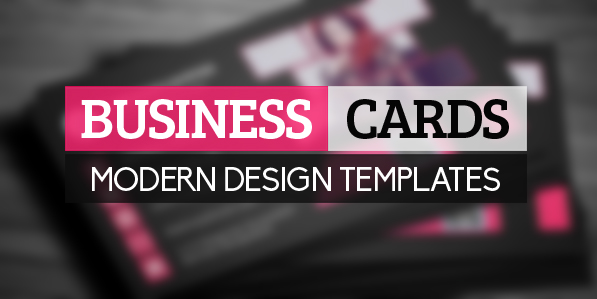New Modern Design Corporate Business Cards