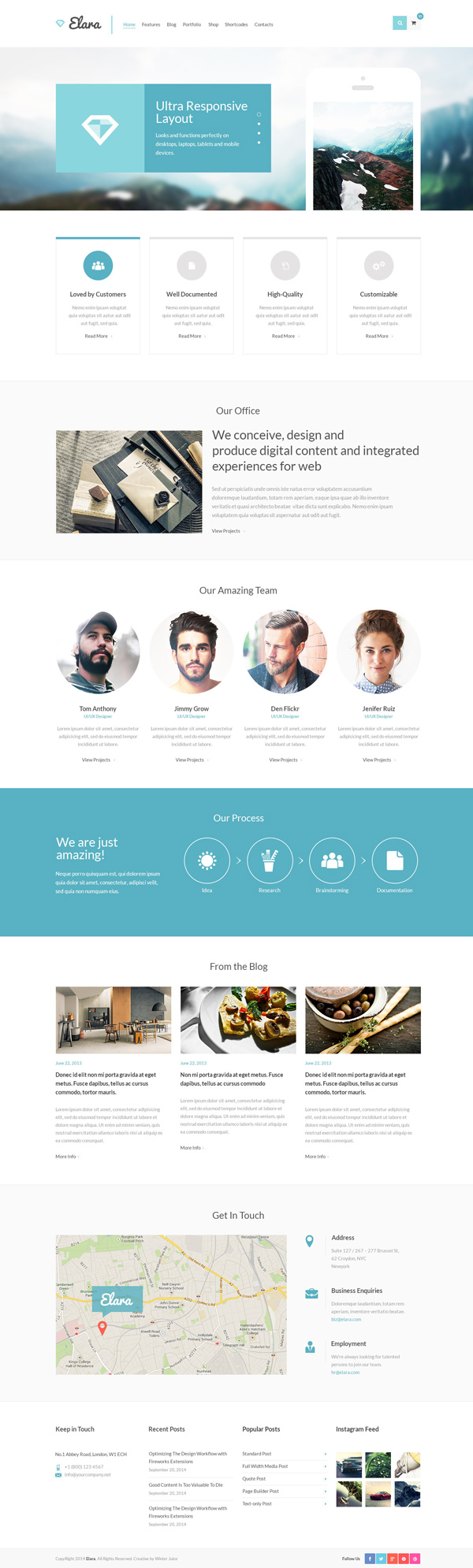 Elara - Multipurpose WordPress Theme