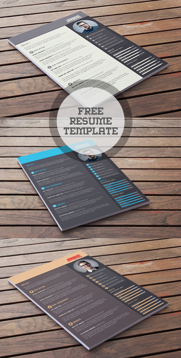 free visual resume templates word template download cool psd